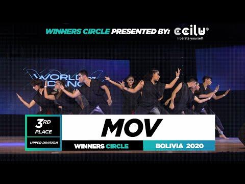 Mov | 3rd Place Team | Winners Circle | World of Dance Bolivia 2020 | #WODBO2020