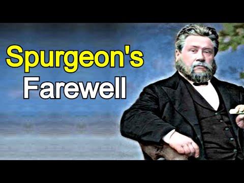 The Minister's Farewell - Charles Spurgeon Sermon