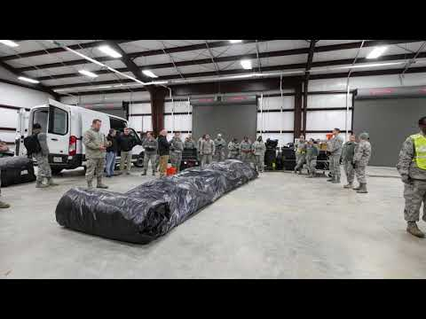 DFN: 116th Medical Group, Detachment 1, Tent Building at Patriot South 2018, HATTIESBURG, MS, USA