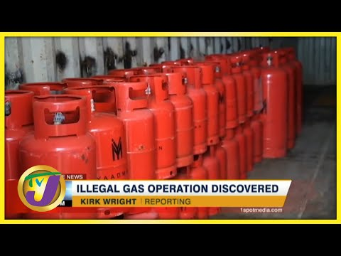Illegal Cooking Gas Operation Discovered in Jamaica   TVJ News