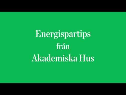 Energispartips - stäng dragskåp