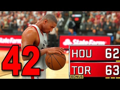 NBA 2K17 My Player Career - Part 42 - INSANELY CLOSE GAME!