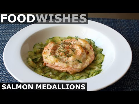 Salmon Medallions - Food Wishes