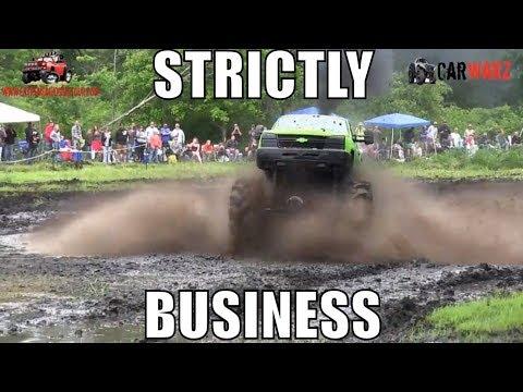 STRICTLY BUSINESS Chevy Mega Truck At Perkins Spring Mud Bog