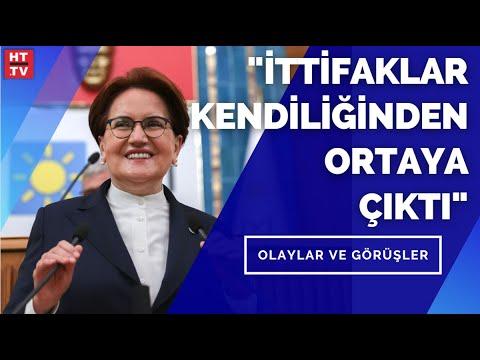 "İYİ Parti Lideri Meral Akşener: ""CHP'ye '31 Mart'ta seçimlere birlikte girelim' dedim"""