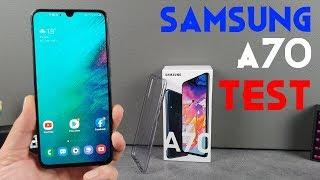 Vidéo-Test : Samsung Galaxy A70 Test