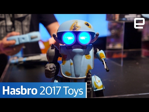 Hasbro 2017 Toys : Hands-on