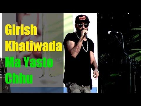 Garish Khhatiwada - Ma Yasto Chhu Ma Tyasto Chhu- Rhythm Highway Concert 2016 @ Narayangarh