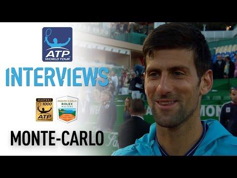 Djokovic Discusses Carreno Busta Test At Monte-Carlo 2017