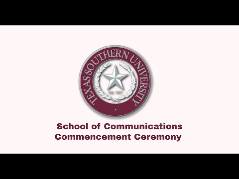 Winter 2020 Commencement  - School of Communication