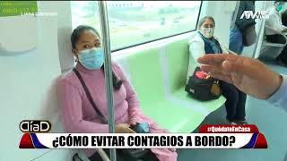 ¿Cómo evitar contagios a bordo