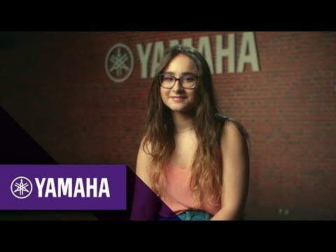Angèle Haddock; Pianist | #MoreThanAGift | Christmas 2017 | Yamaha Music