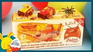 Planes - Œufs surprises Disney -  Unboxing surprise eggs -Titounis