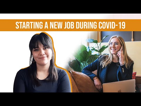 Starting a new job during Covid-19  photo