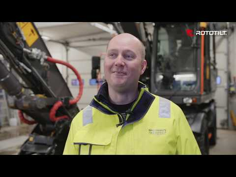 Johan Lindberg about Rototilt® QuickChange™