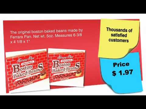 Boston Baked Beans Theatre Size 5oz