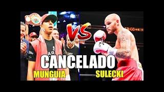 Pelea entre Jaime Munguia y Maseij Sulecki es cancelada de nuevo