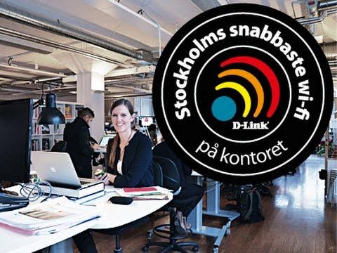 Stockholms snabbaste trådlösa 11ac nätverk