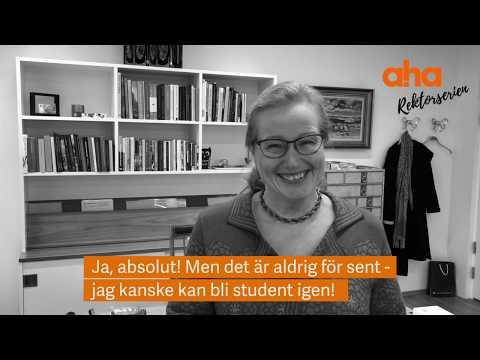 Intervju med Uppsala universitets rektor, Eva Åkesson, om campus betydelse