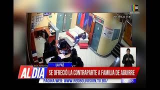 Se ofreció la contraparte, familiares de Aguirre no quisieron hablar