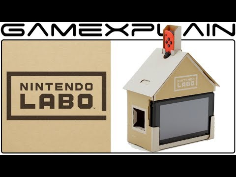 connectYoutube - First Look at Nintendo Labo for the Nintendo Switch - Reveal Trailer