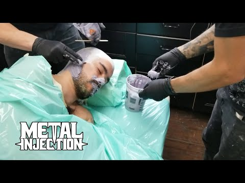 """CATTLE DECAPITATION The Making Of """"Pompeii Bodies"""" For Death Atlas Artwork & Video 