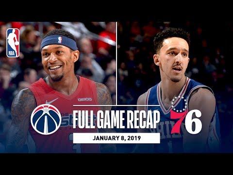 Full Game Recap: Wizards vs 76ers | Landry Shamet Heats Up