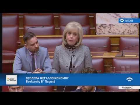 Γιάννης Σαρίδης/Επίκαιρη Επερώτηση/24-2-2017