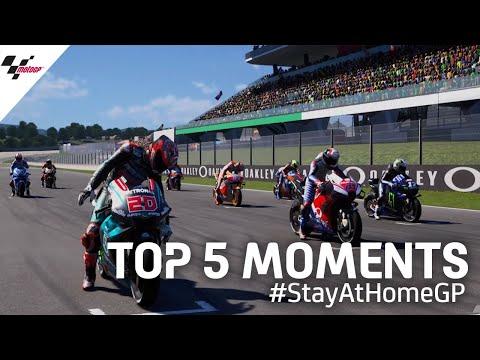 Top 5 moments | #StayAtHomeGP ?