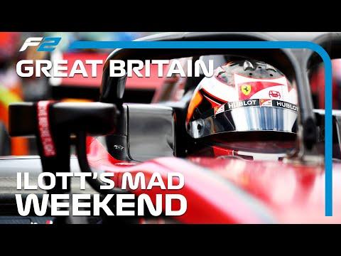 F2 EXCLUSIVE: Callum Ilott's Rollercoaster Weekend | 2020 British Grand Prix