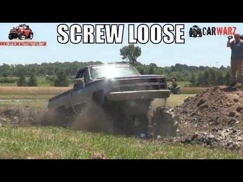 Big Chevy Mega Truck At Red Barn Customs 2018