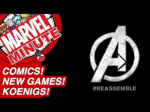 Comics! New Games! Koenigs! - Marvel Minute 2017