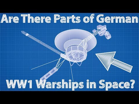 Are There Parts of German WW1 Warships in Space?