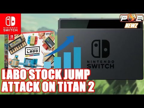 connectYoutube - Nintendo Switch - LABO Skyrockets Nintendo's Value, Attack on Titan 2 Switch Trailer & MORE!