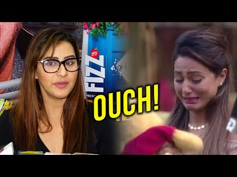 connectYoutube - Shilpa Shinde HATE MESSAGE For Hina Khan