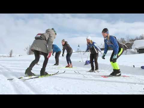 Intervju fra skikurs med Therese Johaug - Rauland