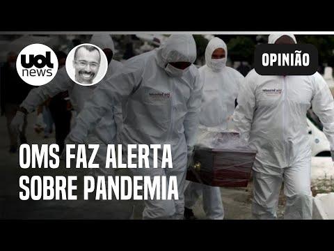 """OMS: mundo vive """"situação perigosa"""" e se distancia do fim da pandemia"""