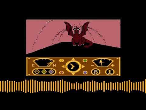 Intro de The Eidolon para computadoras Atari 8 bits