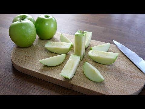 Skär och packa äpplet på ett smart sätt