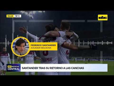 Santander tras su retorno a las canchas