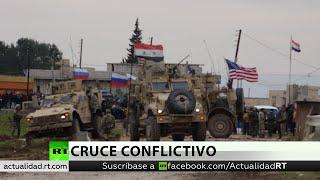 Rusia: Los militares rusos evitaron un conflicto entre las tropas de EE.UU. y los civiles en Siria