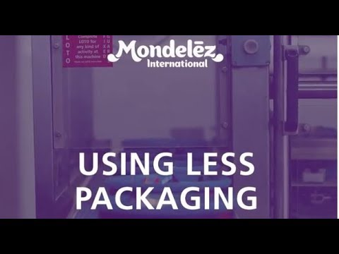 Mondelez International -- Reducing Packaging Weight