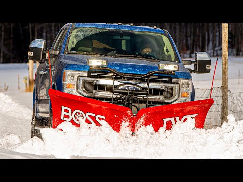 2020 FORD SUPER DUTY | Ultimate Snow Machine | Snow-Plow Prep Package