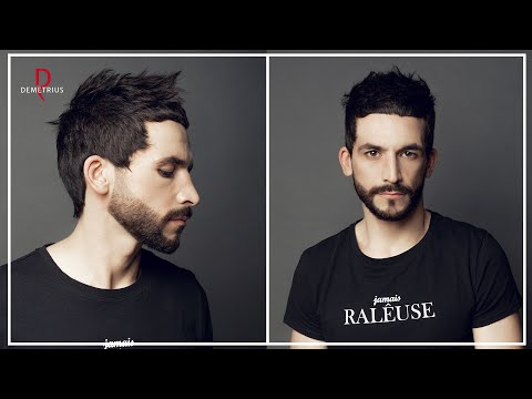 DEMETRIUS | Стрижка КРОП с оформлением бороды | Мужская короткая стрижка 2020 photo