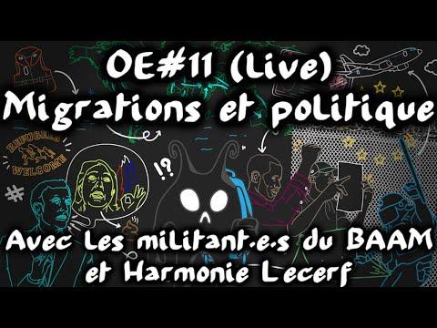 Migrations et Politique avec le BAAM et Harmonie Lecerf #OuverturedEsprit 11