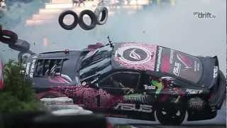 Pawel Trela two crashes on EEDC 2 | Prodrift.lv
