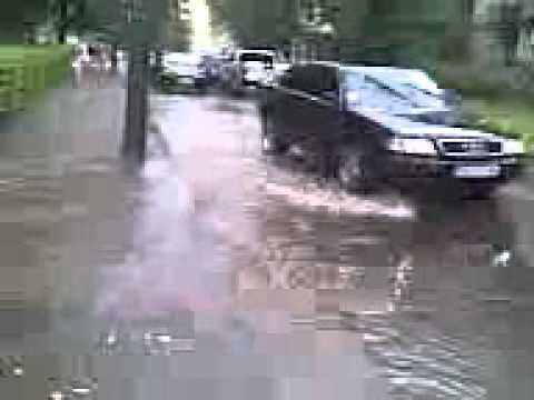 Чернівці, 27.07.2011, злива-2