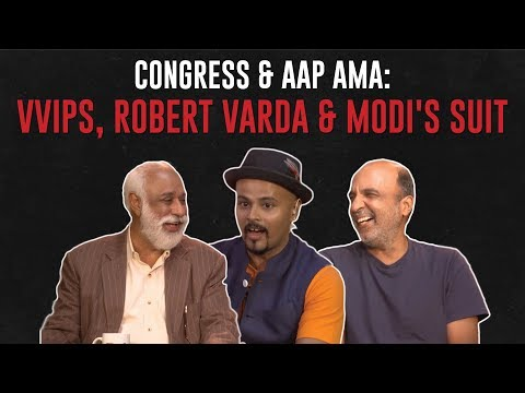 connectYoutube - VVIPs, Robert Vadra & Modi's Suit: Congress & AAP AMA #TheRant