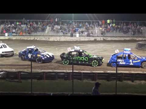 USA Figure Eight Championship 2018 (FWD cars) Heat 8 (Munger,Michigan)