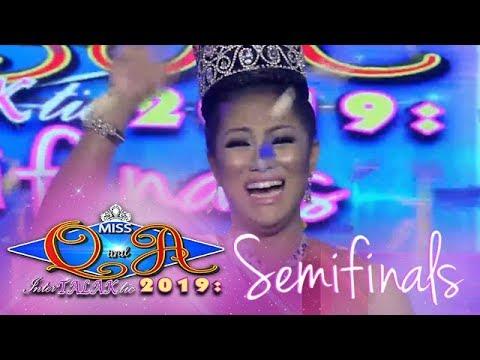 It's Showtime Miss Q & A: Angel Quiogue advances to the Miss Q & A InterTALAKtic 2019 grand finals